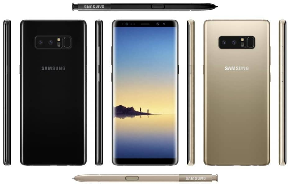 New Galaxy Note 8 Leak Reveals Dual 12MP Rear Cameras, 6GB RAM and 3300 mAh Battery