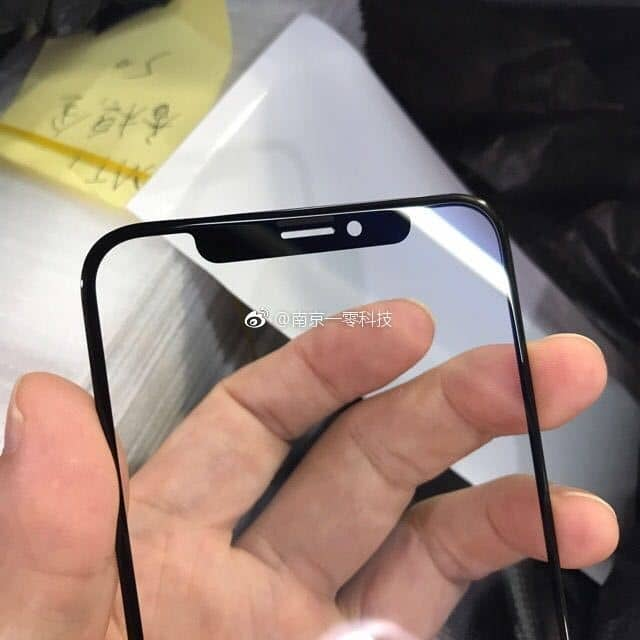 iPhone 8 Front Glass Panel Leaks In High Quality Images !