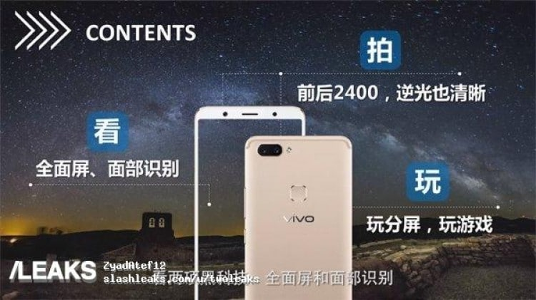 Vivo X20 Completely Exposed In Several Leaks – Shows Dual Cameras And A Big Screen