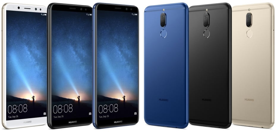 Huawei Mate 10 Lite Leaks Out In The Wild !