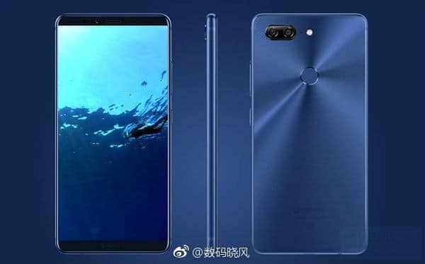 Gionee M7 Plus Render Leak Looks Stunning