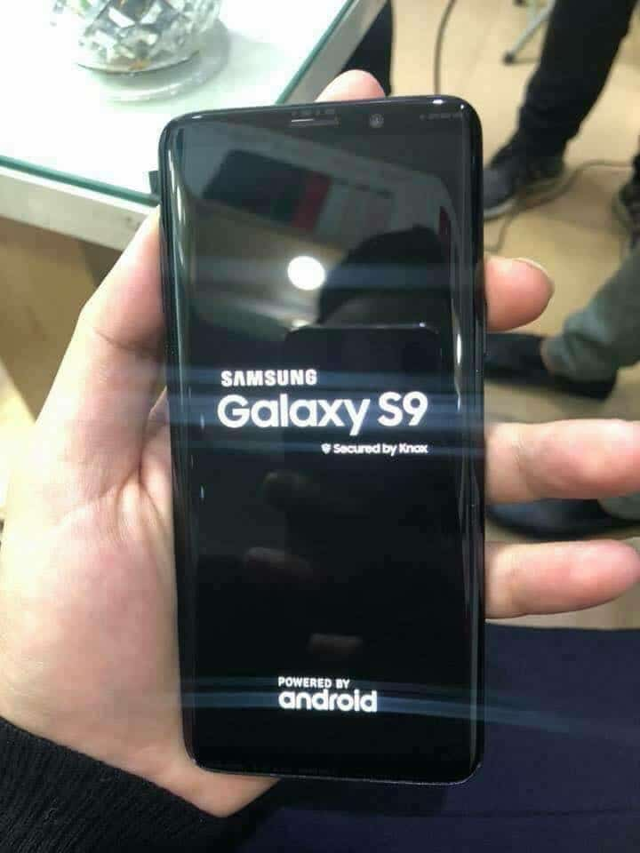 Samsung Galaxy S9 Hands-On Image Leaks