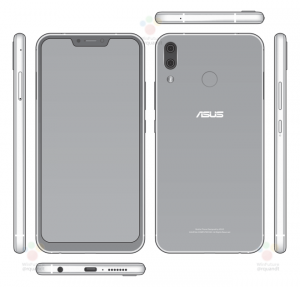 ASUS Zenfone 5 2018 Leak Shows Off An iPhone X Like Notch