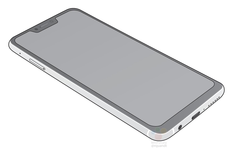 ASUS Zenfone 5 2018 Leak Shows Off An iPhone X Like Notch