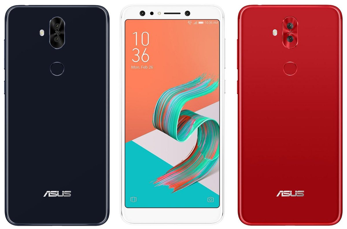 The Quad Camera Zenfone 5 Lite Leaks In Three Color Variants