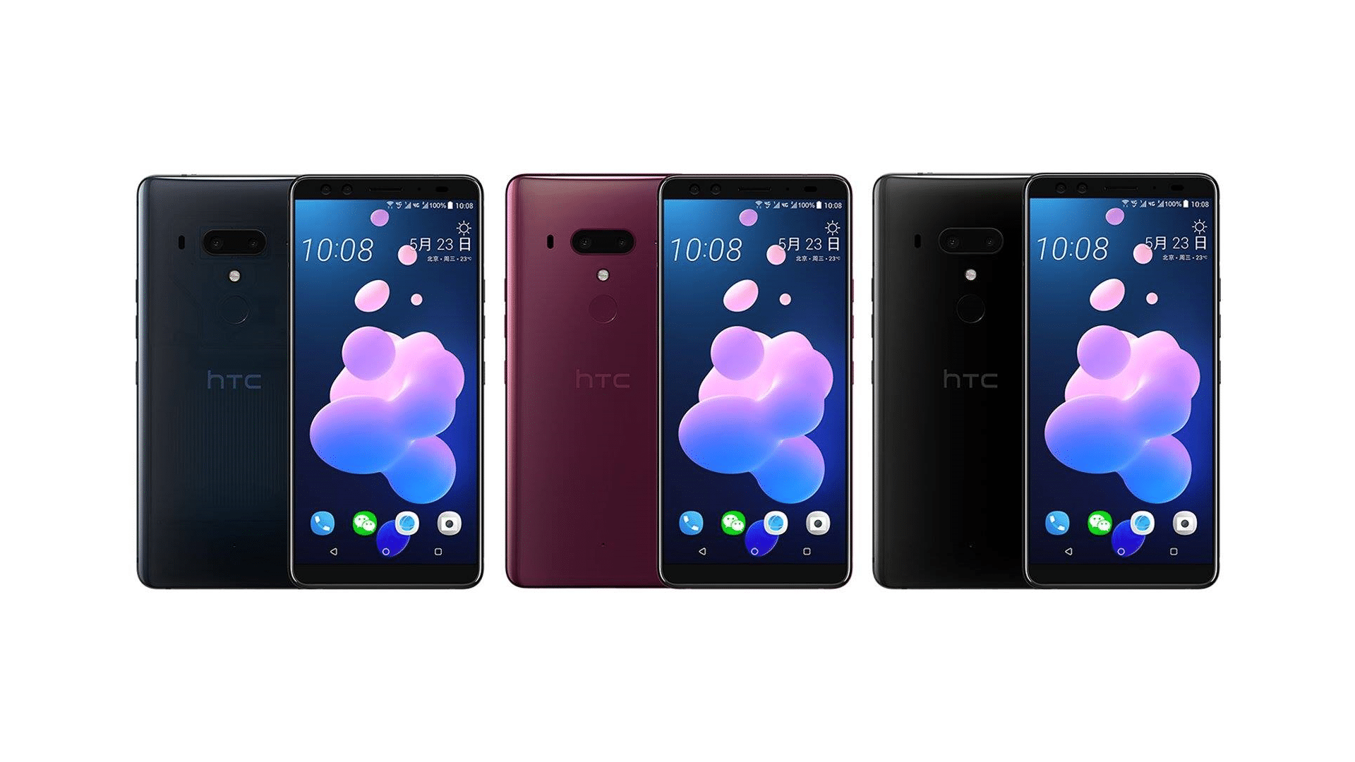 HTC U12+ Official Render And Specifications Leaked Out