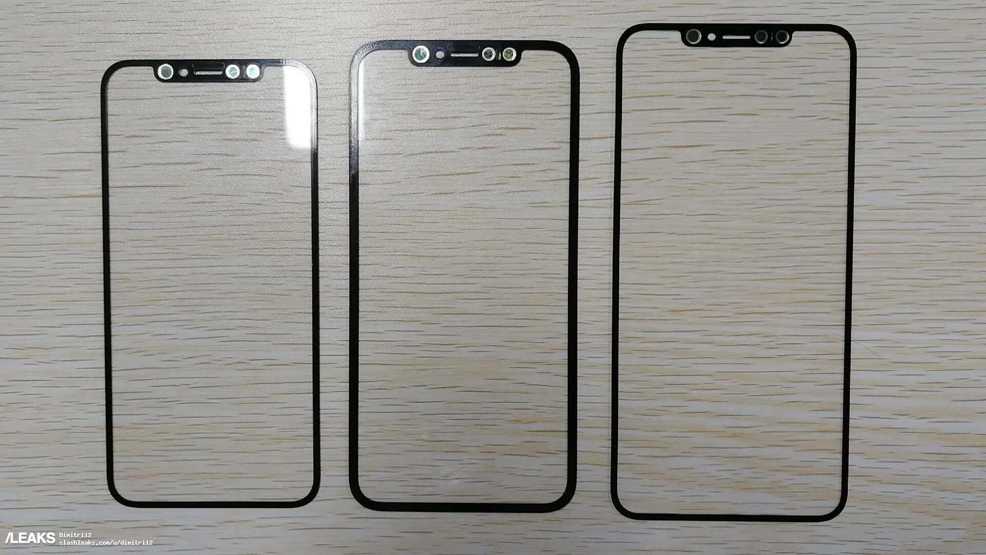 2018 iPhone Front Panel Leaked – Expected To Come With 3 Variant
