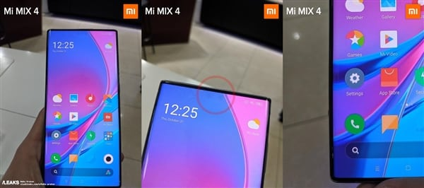 Xiaomi MIX 4 Real Photo Leaked – Comes With Full Screen Display & No Notch